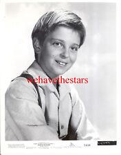 Vintage Tommy Rettig CHILD STAR '54 NO RETURN Publicity Portrait TRAGIC STAR