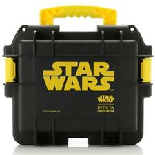 New Invicta 3 Slot Star Wars Water/Dust/Impact Resistant Hard Storage Dive Case