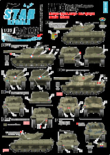 Star Decal 35-C1002 M10 Tank Destroyer in Italy. France, South Africa, NZ, 1/35
