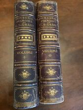 New listing Personal Memoirs Of U.S. Grant - 2 Vols - 1885 First Edition - Civil War History