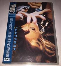 Madonna 2001 Drowned World Tour Taiwan Limited Edition Blue OBI DVD not Promo CD