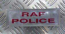 Genuine British Royal Air Force Police RAFP Hi Viz Reflective Jacket Patch
