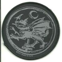 CRADLE OF FILTH dragon 2015 circular WOVEN SEW ON PATCH official merchandise