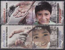 Upaep Guatemala 548/51 2005 Kampf gegen Armut MNH