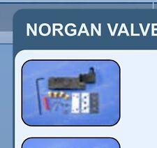 New!! NEC 117-005-753 PNEUMATIC VALVE REPLACEMENT KIT . . NORGREN  (RV $198)