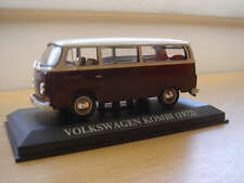 EXTREMELY RARE  VW KOMBI 1972  PORTUGUESE NUMBER PLATE ALTAYA/IXO 1/43