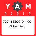 727-13300-01-00 Yamaha Oil pump assy 727133000100, New Genuine OEM Part