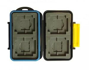 JJC MC-3 Rugged Waterproof Memory Card Case MC-3 (4xCF/4xXD/4xSD/4xMS PRO Duo)