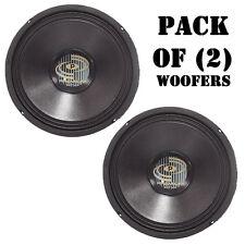 "Pair of New Pyle PPA10 600 Watt Professional Premium PA 10"" Woofers DJ Pro Audio"