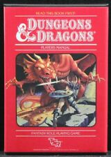 "TSR Dungeons & Dragons Players Manual 2"" X 3"" Fridge / Locker Magnet."