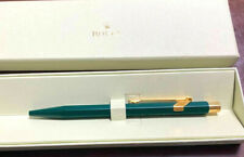 ROLEX Watch Novelty Ballpoint Pen CARAN d'ACHE Green/Gold(Blue ink) wz box Rare