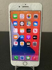 New listing Apple iPhone 7 Plus Silver 32Gb A1661(Cdma + Gsm Unlocked) Cracked Screen Works