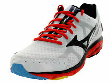 NEW MIZUNO WAVE RIDER 17 White Chinese Red Black Sz MENS 7,  39 EUR $115