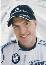 Ralf Schumacher BMW Williams Formula 1 Promo Card F1 1.