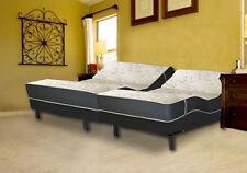 "12"" Split King Size Affluence HighLine Sleep Mattress S-Cape 2.0 Adjustable Bed"