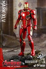 Hot Toys Iron Man Mark XLV Avengers 2 Ultron 12 Inch Action Figure MMS300 D11