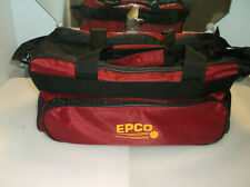 New listing Candlepin Bag/Epco Red/4 Ball/Excellent Used Cond/4 Ball Foam Insert Included