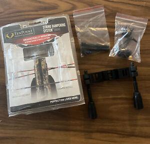 Ten Point Crossbow SDS String Dampening System w/ Short Rods #01308 Vapor Titan