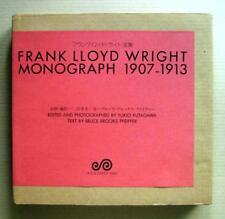 FRANK LLOYD WRIGHT MONOGRAPH vol.3, 1907-1913 / A.D.A. EDITA / 1987