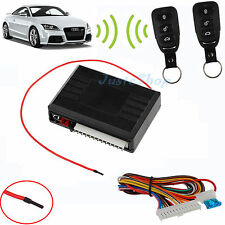 Universal Vehicle Car Door Lock 2xRemote Central Kit 12V Keyless Entry System Dt