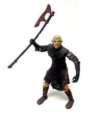 "Tolkien Hobbit Lord of the Rings Movie ISENGARD ORC  6""  Villain figure RARE"