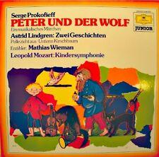 MATHIAS WIEMAN/MAAZEL/GORVIN peter und der wolf PROKOFIEFF/MOZART/LINDGREN NM++