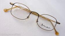 BRENDEL Herren Metallbrille Brille Markenbrille Neu matt messing antik size S