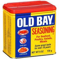 OLD BAY SEASONING for Seafood, Poultry, Salads & Meats, 6 oz. FREE USA SHIPPING