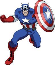 "Captain America Vinyl Sticker Decal 18"" (full color)"