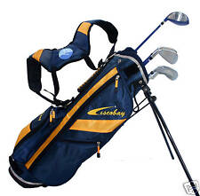 Brand New Ciscobay Golf blue star Kids Golf Clubs Junior Club Set 9-12 8 pieces