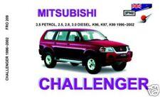 JPNZ Mitsubishi Challenger 96-02 English Owner Handbook