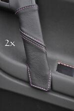 FITS VW POLO MK5 6N2 98-2001 2X DOOR HANDLE COVERS pink