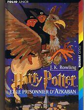 Harry Potter et Le Prisonnier D'Azkaban * J.K. ROWLING * Folio Junior * jeunesse