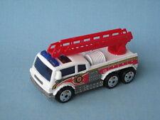 Matchbox Ladder Fire Engine Cuerpo Blanco Rojo Escalera Motor 3 En Caja