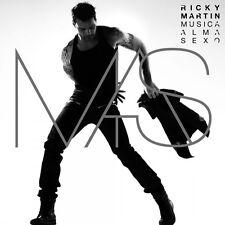 CD Ricky Martin- musica alma sexo