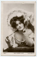 c 1907 Victorian Edwardian Theater FLORENCE WARD Fashion Beauty photo postcard