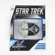 Star Trek Starship Collection USS ENTERPRISE 1701-J Model Eaglemoss Issue 89