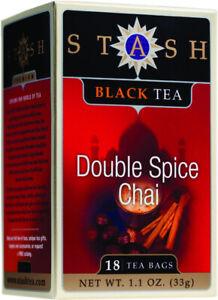 Double Spice Chai Black Tea by Stash, 18 tea bag