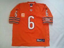REEBOK ON FIELD CHICAGO BEARS #6 JAY CUTLER FOOTBALL ALL SEWN  JERSEY IN SIZE 48