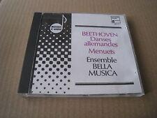 BEETHOVEN GERMAN DANCES MENUETS ENSEMBLE BELLA MUSICA HARMONIA MUNDI CD