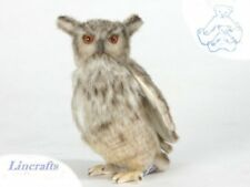 Eagle Owl Plush Soft Toy Bird by Hansa. Sold by Lincrafts. 5548