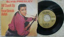 Elvis Presley - Heartbreak Hotel / All Shook Up - Canada 45rpm + PS - Jukebox