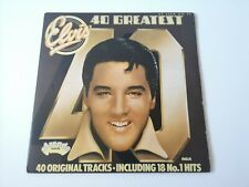 Elvis Presley 40 Greatest Hits Double Vinyl Record