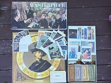 1970 Vintage Masterpiece Art Auction Complete Board Game Parker Brothers Clean