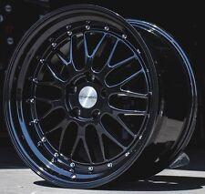 "17"" ESR SR05 Gloss Black Wheels 5x114.3 17X8.5 +30 For Toyota Rav 4 Sienna Rims"