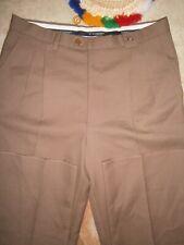 NWT Burberry London Men Dark Beige Khaki Pants Size 40 15x28
