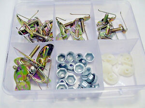 GM 53pc Body Side Door Moulding Retainers Fasteners Exterior Trim Clips Kit