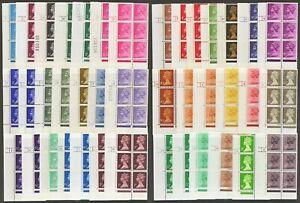1971 X Machin Cylinder Block Collection - SAVE 50%