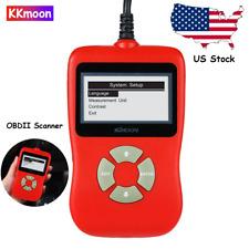 KKmoon OBDII OBD2 EOBD Auto Car Diagnostic Scan Tool Scanner Code Reader Q4H0