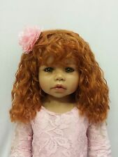 """Cassi Wig St Bl By Masterpiece Dolls(WIG ONLY-DOLL NOT INCLUDED) 18.5"""" Head"""